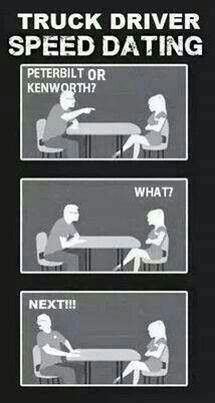 Truck Driver Speed Dating