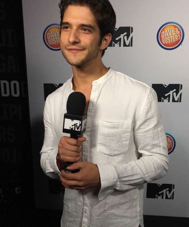 Tyler Posey - MTV's Fall Premiere Party last night