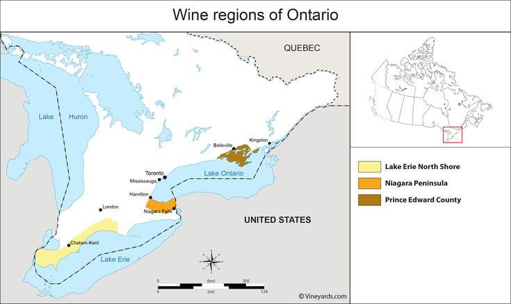 Wine Regions in Ontario