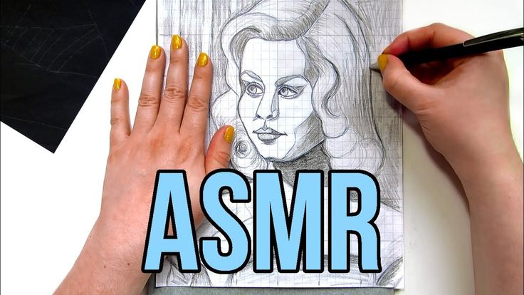 ASMR Tracing Paper No Talking || Transferring Drawings with Graphite Transfer Paper and a Ballpoint Pen.