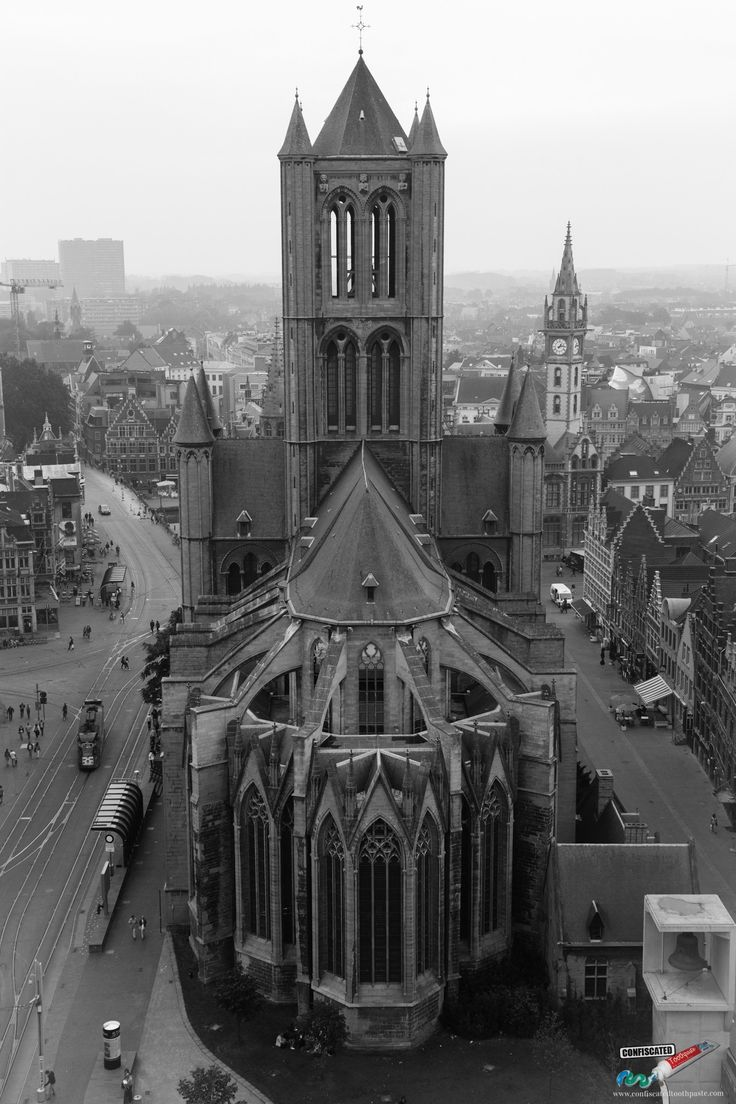 St. Nicholas's Church, Ghent. A Roadtrip Through The Netherlands and Belgium Part 2: Bruges, Ghent and Brussels   --> http://www.confiscatedtoothpaste.com/roadtrip-netherlands-belgium-part-1-amsterdam-haarlem-hague-zeeland/