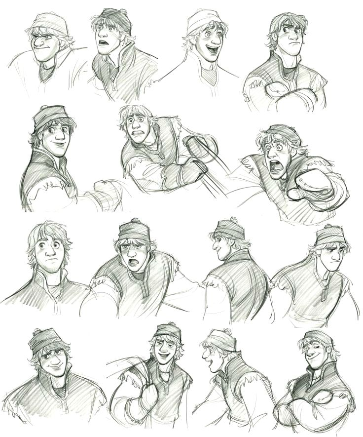 by Jin Kim  ✤ || CHARACTER DESIGN REFERENCES | ~ I did like Kristoff an awful lot!