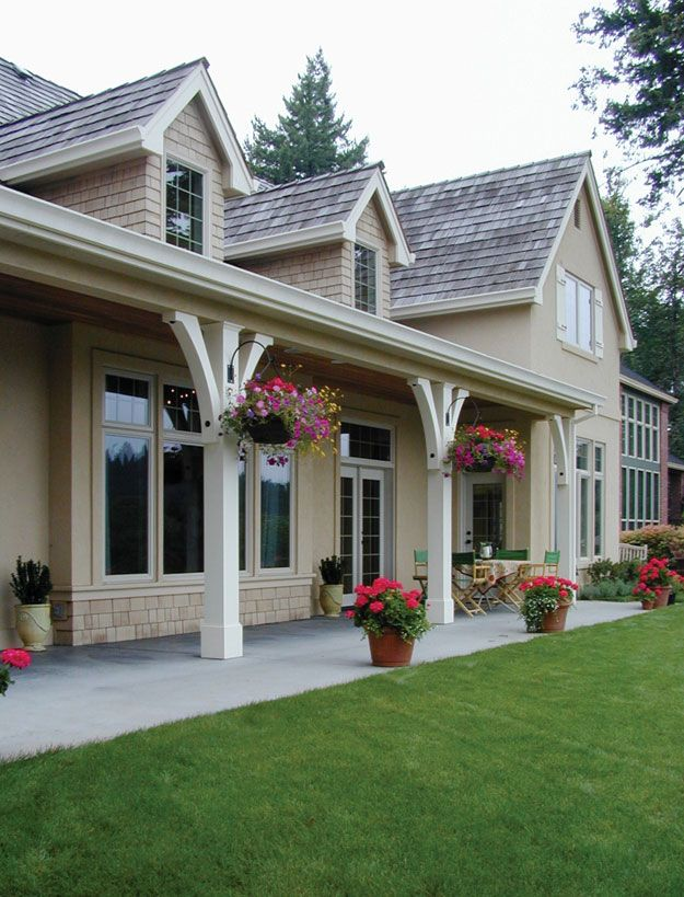 17 best images about front porch columns on pinterest for House plans with columns and porches
