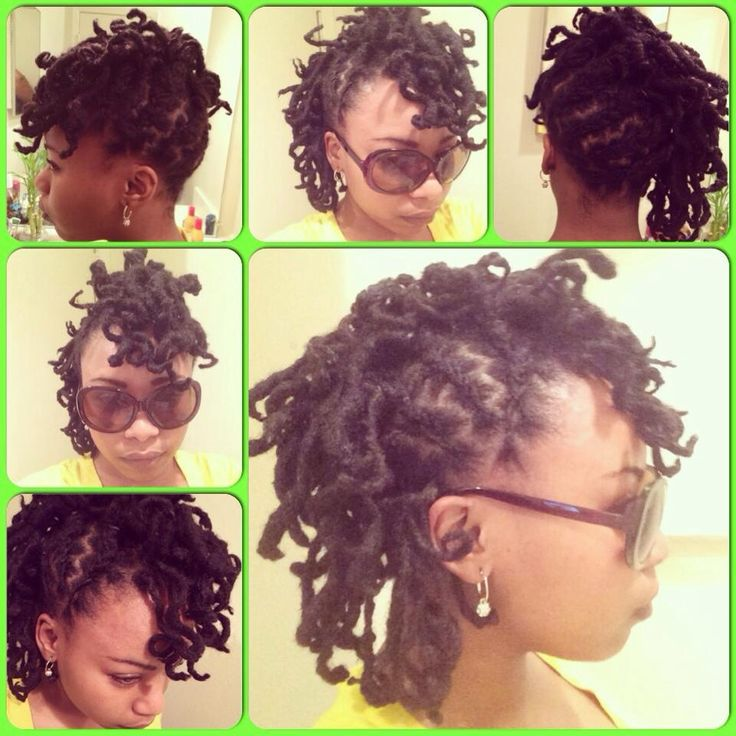 Short Dreads Styles For Women