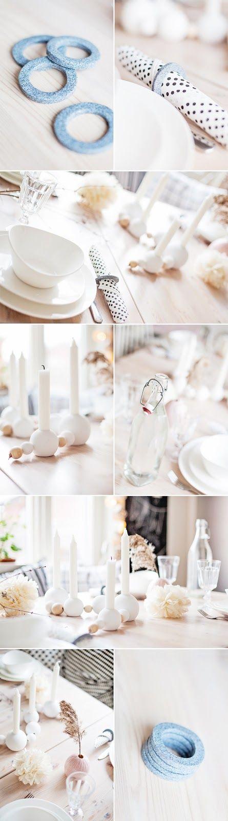 Pastill.nu - fotograf Stockholm - Järfälla: DIY: servettringar av fimolera