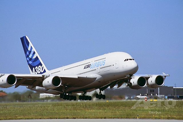 Otd First Flight Of The Airbus A380 On 27 April 2005 Airbus A380 Airliner History Aviation Aeroausmag Avgeek Instagramavi Airbus A380 Airbus Aviation