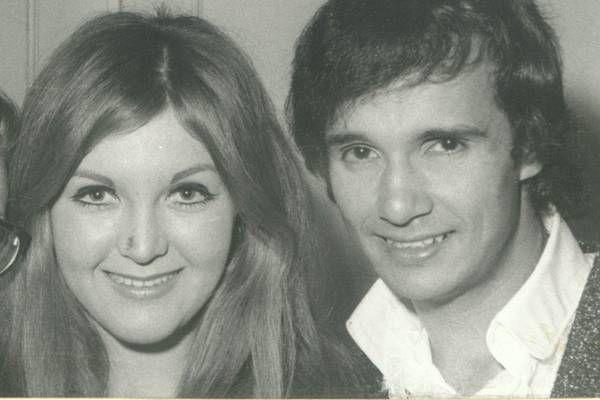 A cantora Wanderléia e o cantor Roberto Carlos (Arquivo O Cruzeiro/EM/D.A Press)