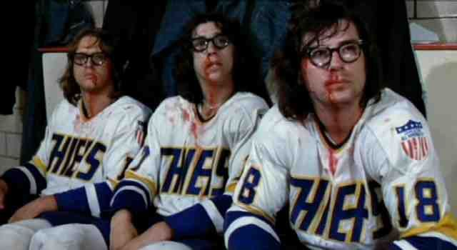 The Hanson brothers the best defenders in the league