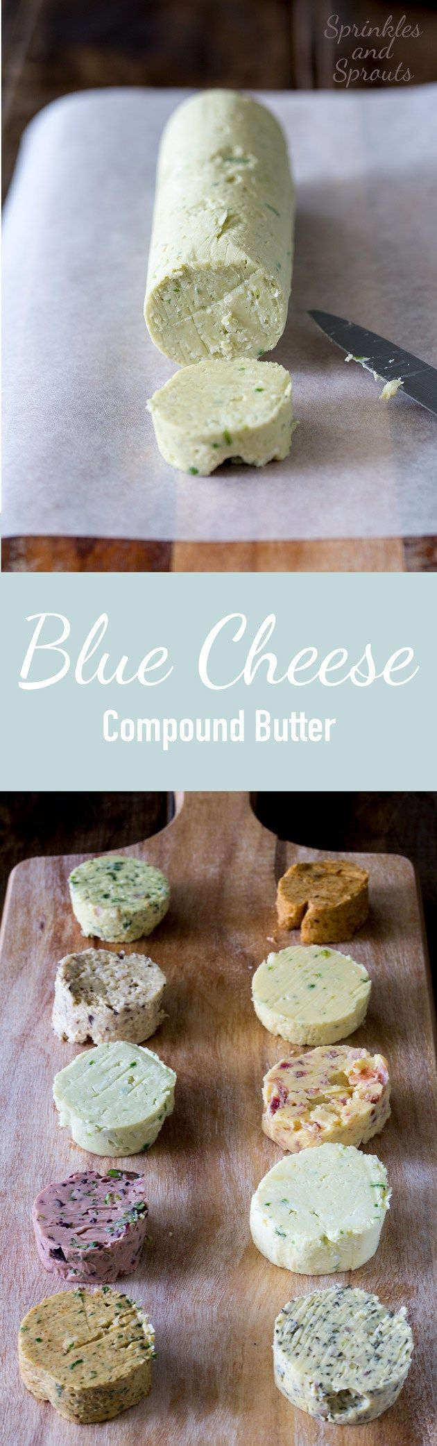 We all know that blue cheese goes well with steak so mixing it with butter makes…