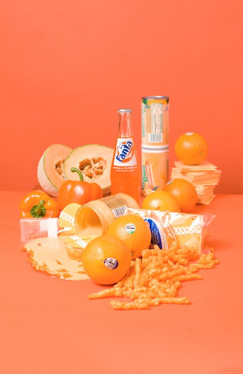 Colour Still Life photography- small groups could create these in class