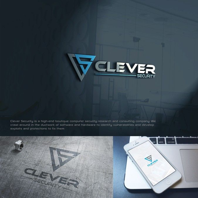 Create the brand for a cutting-edge hacking company, Clever Security by ardifa