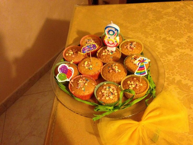 Muffin alle carote e amaretti