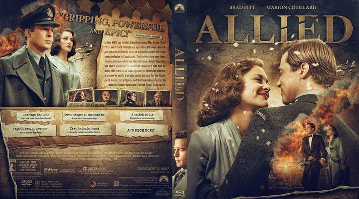 Allied Blu-ray Custom Cover