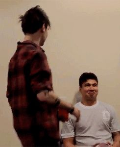 Cal's face is hilarious