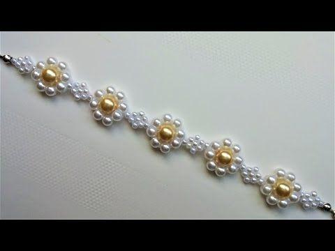 daisy chain all grown up ~ Seed Bead Tutorials