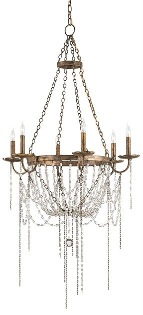 The Prophecy Chandelier is one of Showroom Consultant, Eden's favorite chandeliers. The statement piece is a special order, but is certainly worth the short wait. Find it cheaper at #Ferguson and enjoy the luxury of a #gold leaf and glass chandelier in your home for less!
