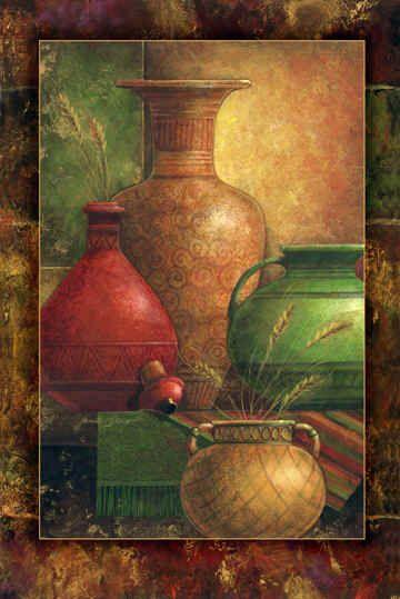 """""""Earthen Vessels I"""" / Janet Stever"""