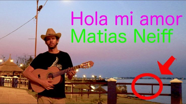 Hola mi amor - Junco - Cover by Matias Neiff