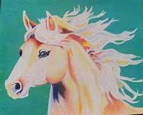 My horse, Eve