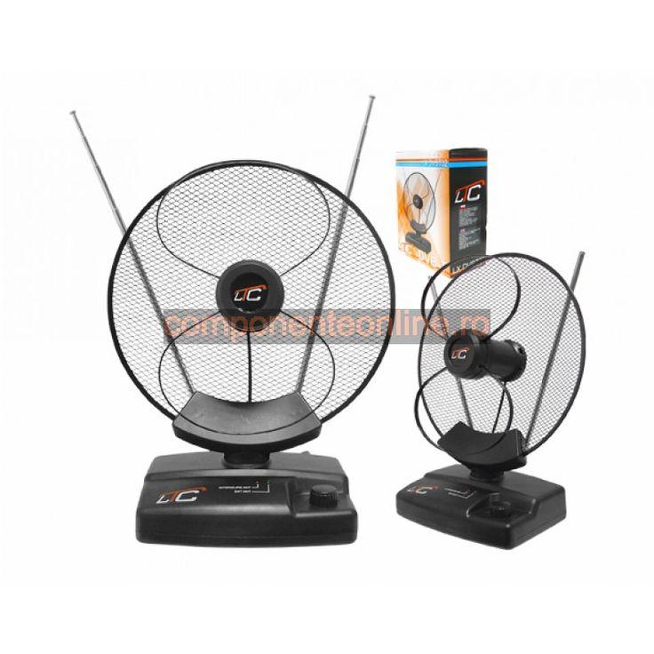 Antena de camera, cu amplificare, TV, AM, FM - 200300