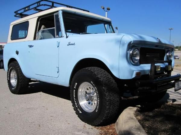 International Scout Baby Blue