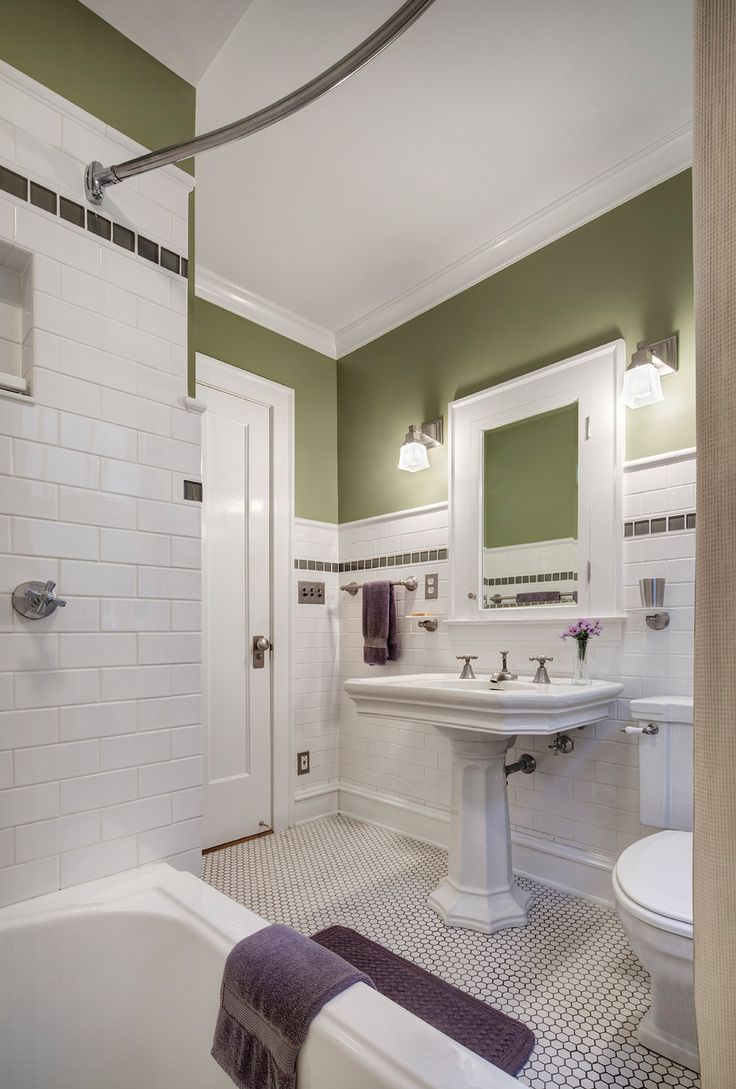 Arts and crafts bathroom tile - Find This Pin And More On Arts Crafts Bathrooms