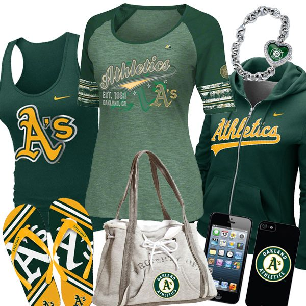 Womens Oakland Athletics Fashion