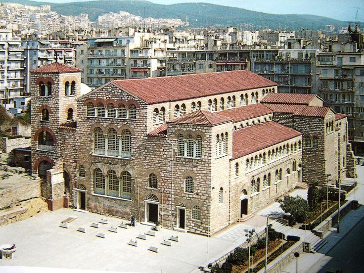 Agios Dimitrios church in Thesaloniki