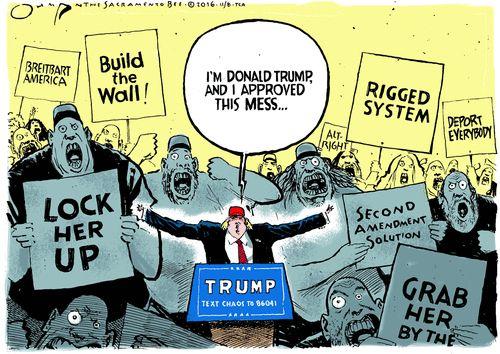 Jack Ohman Editorial Cartoon, November 07, 2016     on GoComics.com