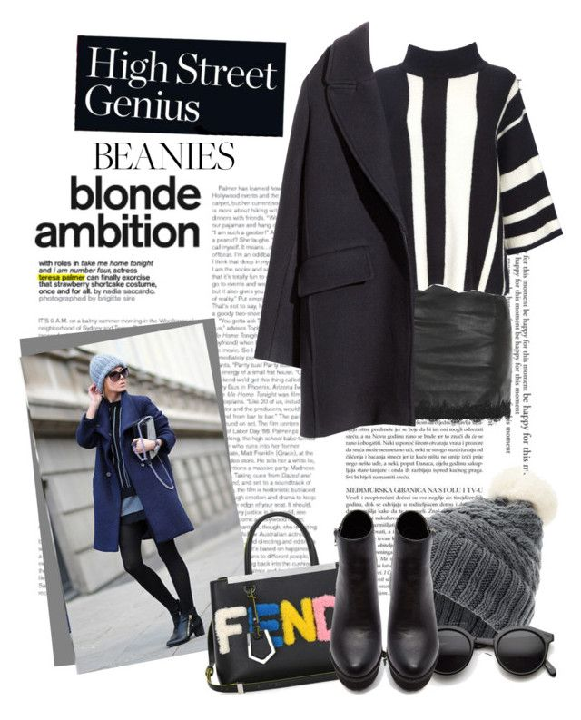"""""""beanie"""" by tsungie ❤ liked on Polyvore featuring Love & Lies, Wallis, H&M, Sweaty Betty, Fendi, Retrò and Forever 21"""