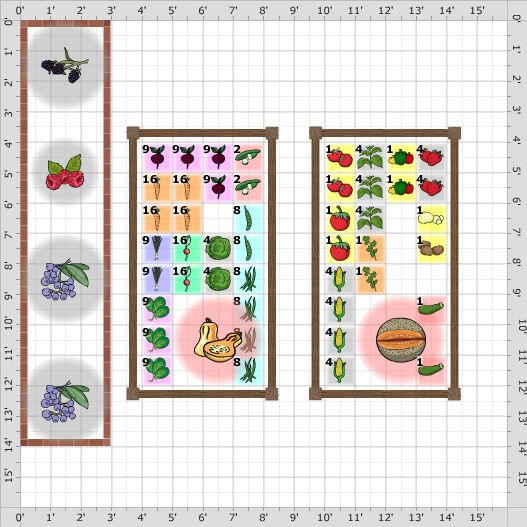 344 best Love Square foot gardening images on Pinterest Squares