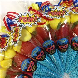 Party Ideas UK Super Hero Sweet Cone
