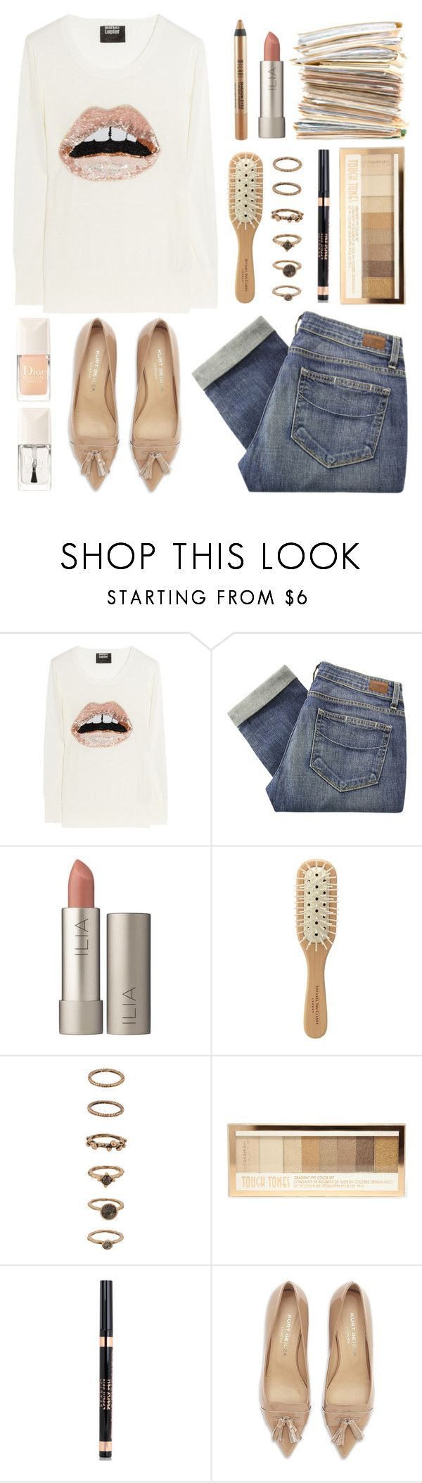 """""""''Band-aids don't fix bullet holes.''"""" by felytery ❤ liked on Polyvore featuring Markus Lupfer, Paige Denim, Ilia, Michael Van Clarke, Forever 21, Kardashian Beauty and Kurt Geiger"""