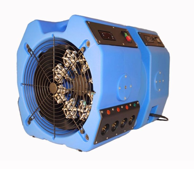 Radial 8 Bed Bug Heater And Fan Combo Digital Thermostat