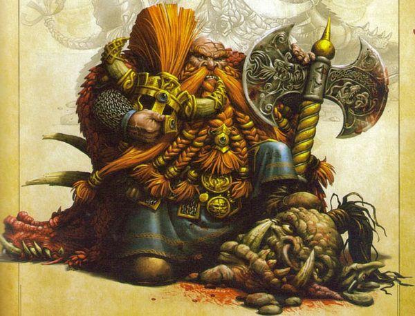 """Warhammer: Fantasy Battles (Важные персонажи часть 20: """"Король-Убийца Ангрим, Железный Кулак"""") Warhammer, warhammer fantasy battles, Lore, длиннопост"""