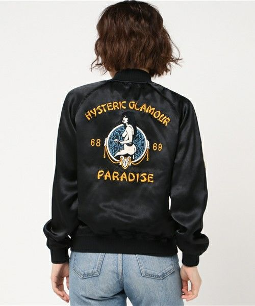 商品詳細 - PARADISE刺繍 スカジャン|HYSTERIC GLAMOUR WOMENS(ヒステリックグラマー ウイメンズ)公式通販