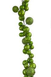 2.7m Lime Green ball garland   Code: BAGA270LGSMS