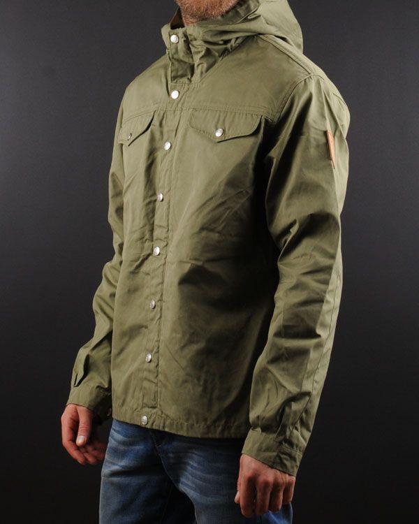 Sale Vintage FjallRaven Khaki Jacket Fjallraven Army Parka Style Army Militiry Coat Women Small Hodded Jacket Men mJcagA