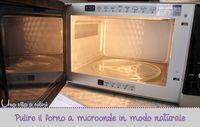 Un metodo semplice, veloce e naturale per pulire il forno a microonde. Rimarrà profumato, non inquini e risparmi soldi dei detersivi.