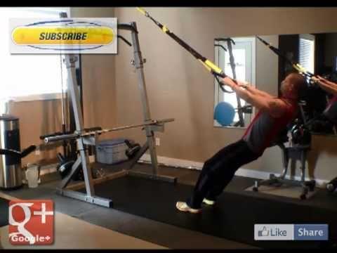 Calgary Personal Trainer TRX High Row Tutorial. TRX High Row by Bounce L...