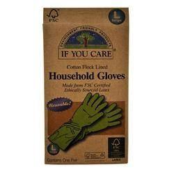 Go natural with If You Care Iuc Shelled Gloves Large (12×1 PAIR). These gloves are made from Forest Stewardship Council (FSC) certified latex, i.e. the natural rubber is sourced from a responsibly managed plantation. Furthermore, the rubber tappers, who cut the bark to get the raw material flowing, have received a fair trade premium, and it is their decision how to spend their extra income. If You Care Household Gloves?good for nature, good for people.. (Note: Description is informational…