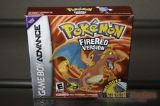 Pokemon: FireRed Version (Game Boy Advance, 2004) H-SEAM SEALED! - RARE!