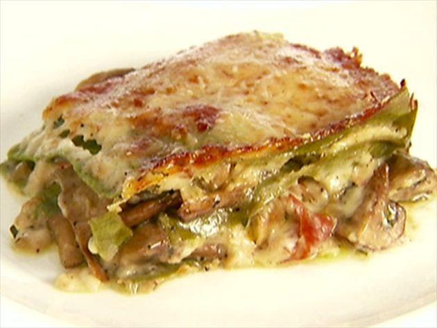 Meaty Mushroom Lasagna Recipe Giada De Laurentiis