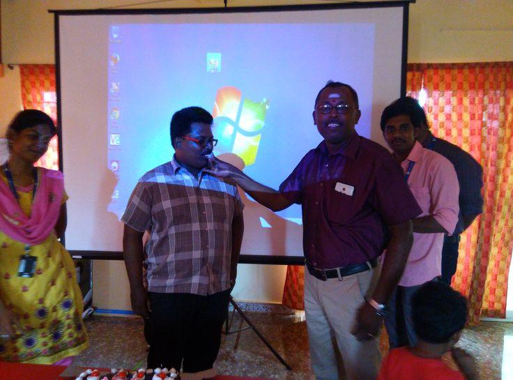 Teacher's day celebration @WBC_SW_Lab