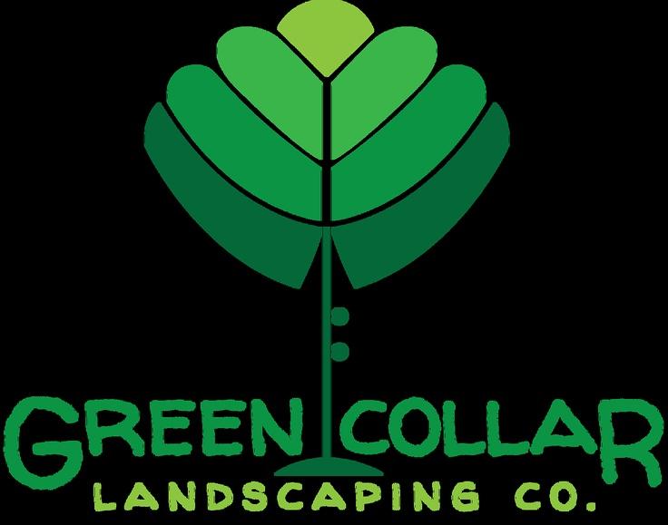Green Collar Landscaping Co. Logo