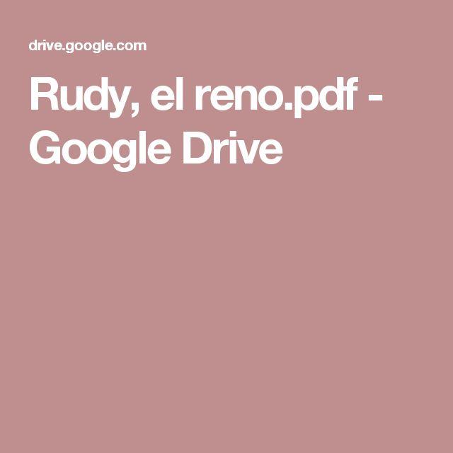 Rudy, el reno.pdf - Google Drive