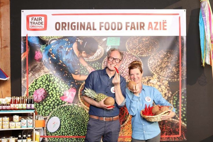 Kleur, smaak en beleving! Original Food Fair voor Fair Trade Original. (april 2017)