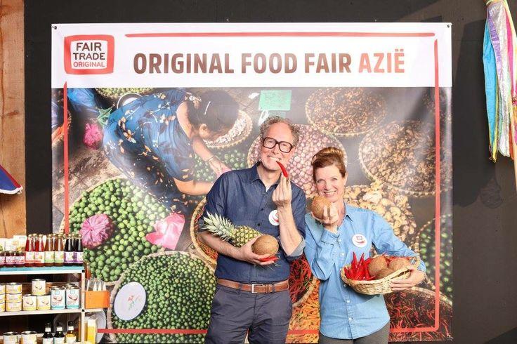 Kleur, smaak en beleving! Original Food Fair voor Fair Trade Original. (april 2017)