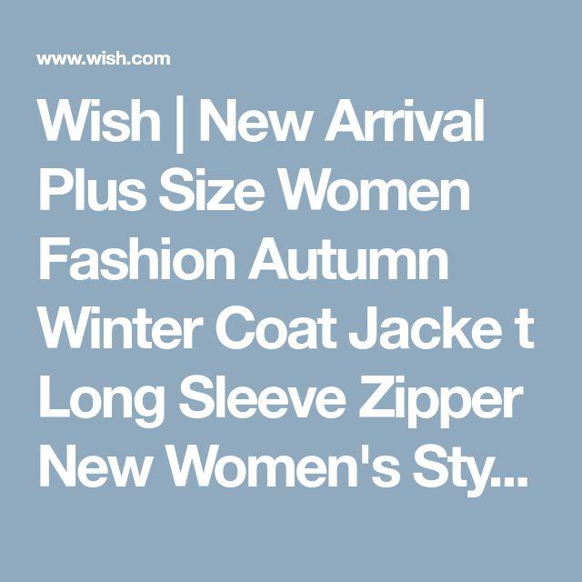 Wish   New Arrival Plus Size Women Fashion Autumn Winter Coat Jacke t Long Sleeve Zipper New Women's Stylish Slim Removable Hooded Leather Jackets Coat Ladies Tops Motorcycle Coat Outerwear