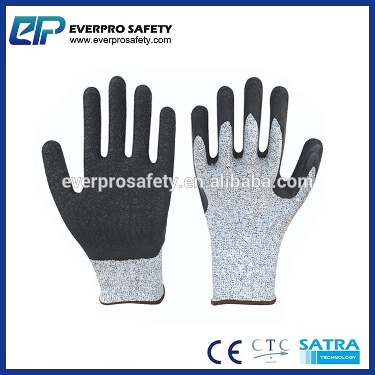 Hand Gloves Online Thin Latex Dipped Level 2 Cut Resistant Gloves